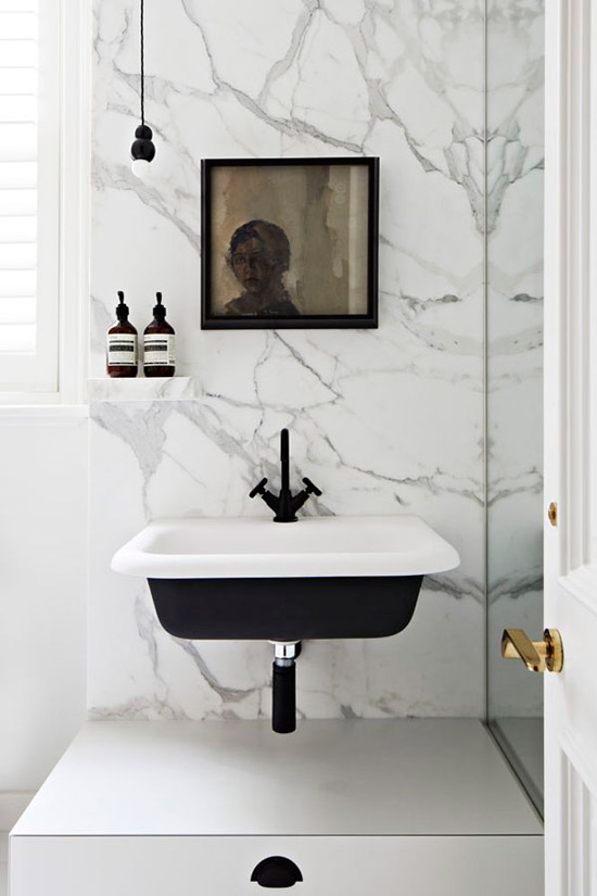 The Design Confidential Minimalist // In the Bath
