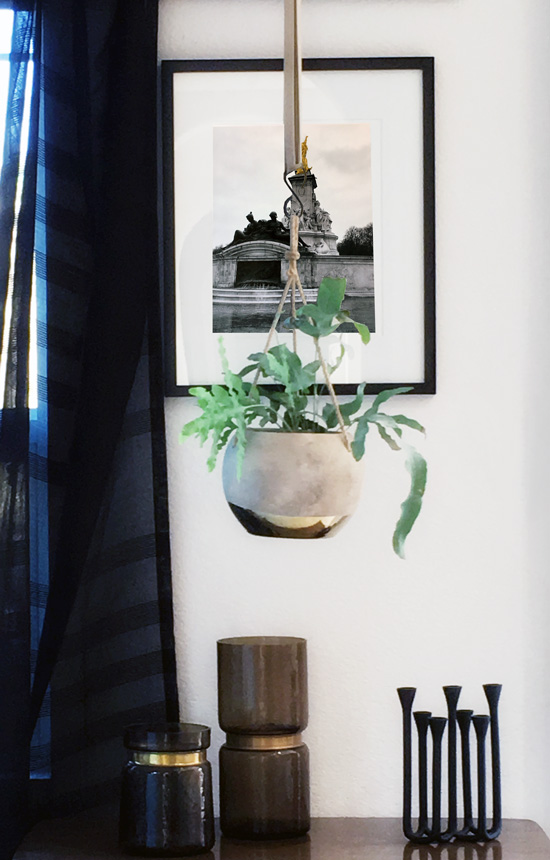 The Design Confidential DIY // Embroidered Dimensionsal Photo Art Prints