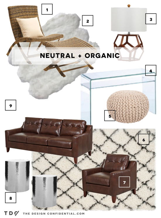 Neutral and Organic group of A Few of My Favorite Things from The Design Confidential Curator Collection on Joss and Main