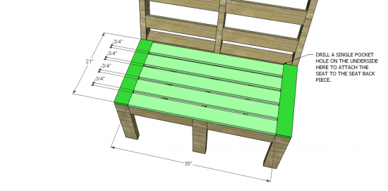 You Can Build This! Easy DIY Plans from The Design Confidential Free DIY Furniture Plans // How to Build Customizable Outdoor Furniture via @thedesconf