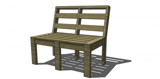 Free DIY Furniture Plans to Build Customizable Outdoor Furniture with the Kreg Jig and Pocket Hole Screws