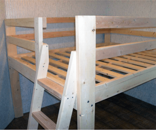 The Design Confidential Reader Showcase: DIY Full Sized Low Loft Bed