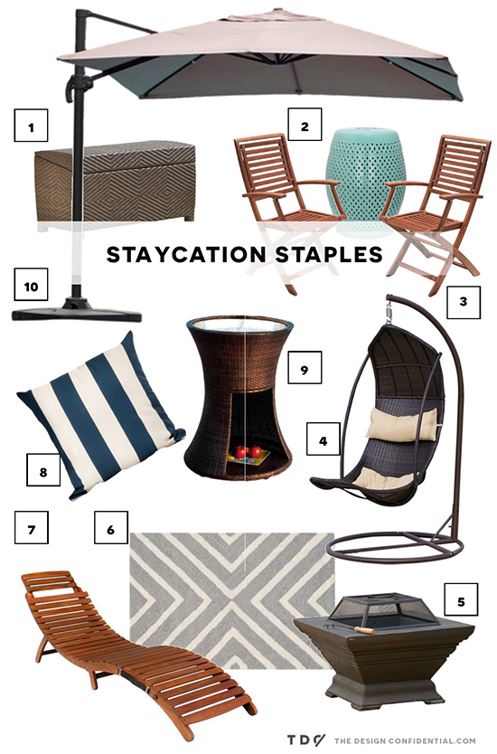 Favorite Finds for a Staycation from Wayfair Daily Sales