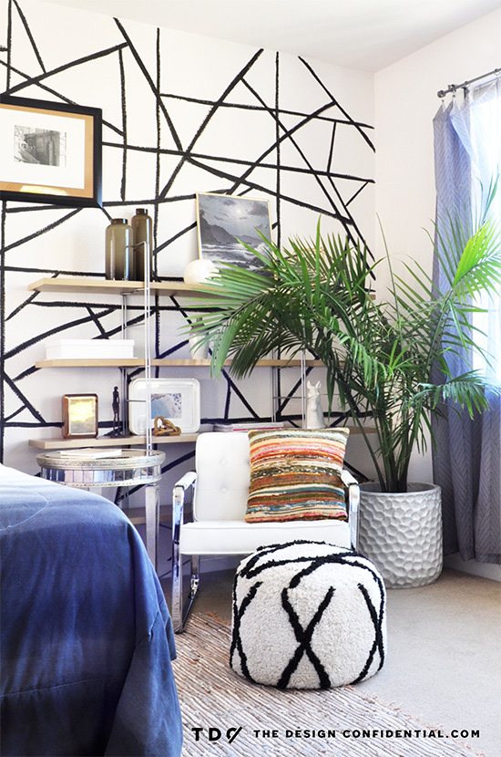The Design Confidential Sources + Details For My Bold and Beachy Master Bedroom Makeover