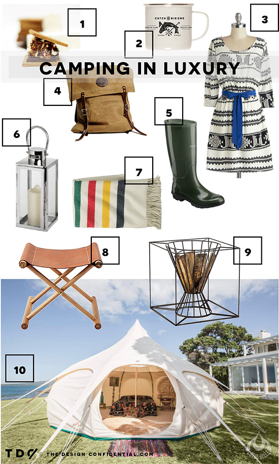 Luxury Camping Items for One Last Hurrah + a Fall Favorite // The Art of Glamping