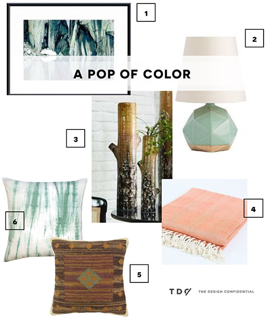 Pop of Color Accessories from Wayfair