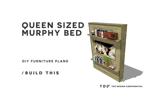 To Build A Queen Sized Murphy Bed, Queen Size Murphy Bed Plans
