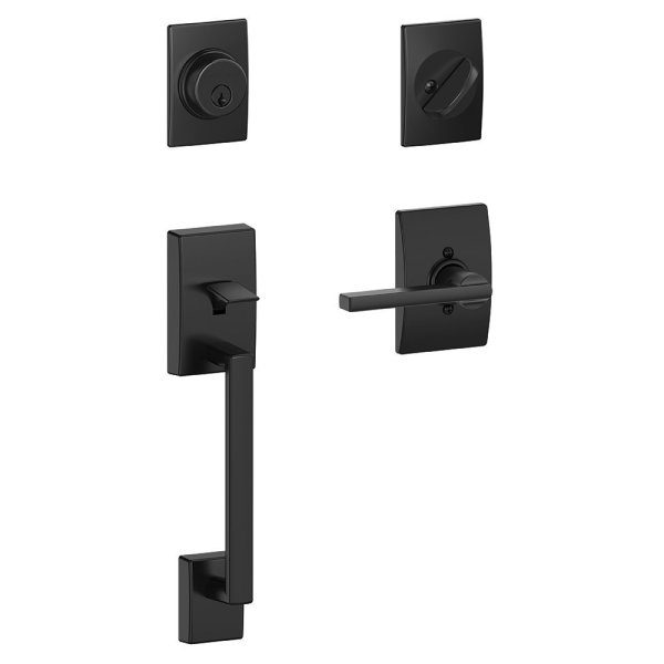 I adore this Schlage Century Handleset and Latitude Lever from The Design Confidential Shop via @thedesconf