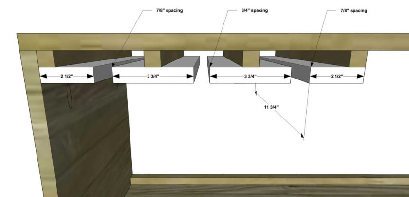 You Can Build This! Easy DIY Plans from The Design Confidential Free DIY Furniture Plans // How to Build A Broadway Bar via @thedesconf