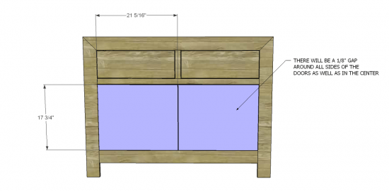 You Can Build This! Easy DIY Plans from The Design Confidential Free DIY Furniture Plans // How to Build A Small Dawson Dresser via @thedesconf