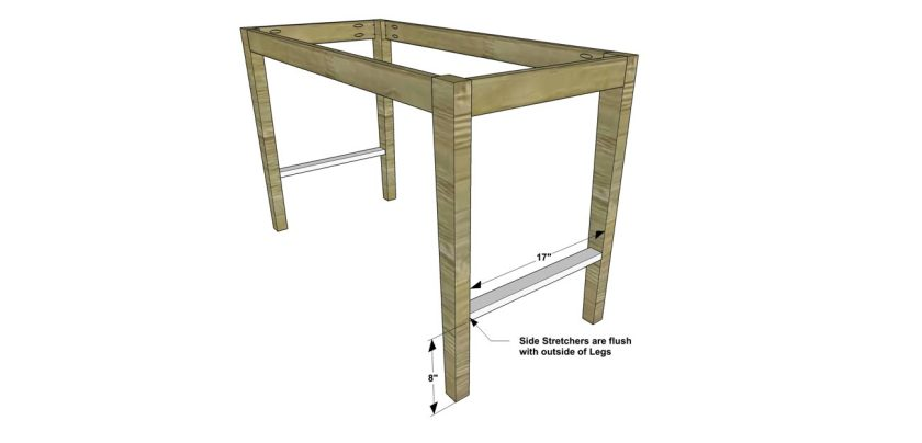 You Can Build This! Easy DIY Furniture Plans from The Design Confidential with Complete Instructions on How to Build a Drexel Desk via @thedesconf