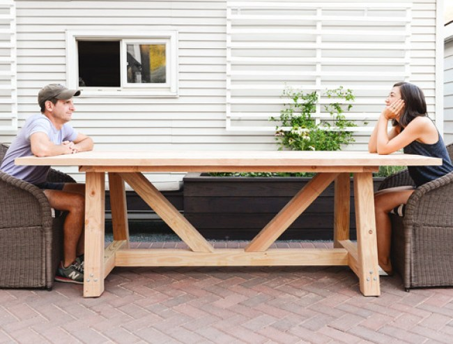 You Can Build This! The Design Confidential's Builders Showcase // Yellow Brick Road's Provence Beam Dining