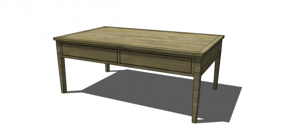 Free DIY Furniture Plans To Build A Portsmouth Cocktail Table. Well I  Promised You Guys A Table, Though This Isnu0027t The Table I Was Referring To!