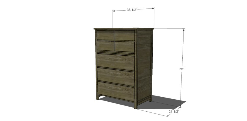 You Can Build This! Easy DIY Plans from The Design Confidential Free DIY Furniture Plans // How to Build a Tallboy Dresser via @thedesconf
