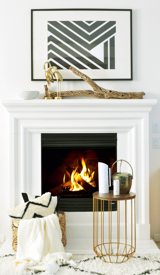 Essentials from Target for The Design Confidential Feeling Fall // Essentials for Creating a Cozy Mantel