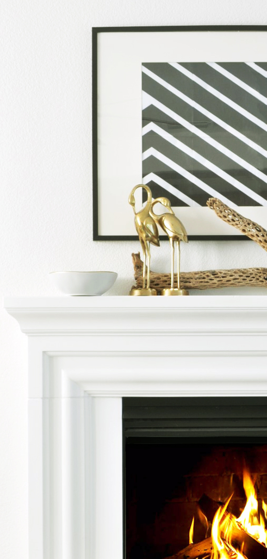 Light Sparkle and Natural Elements from Target for The Design Confidential Feeling Fall // Essentials for Creating a Cozy Mantel