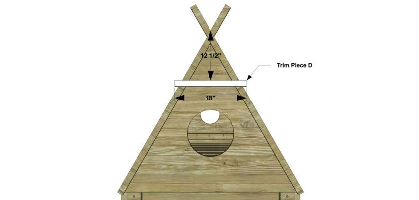 You Can Build This! The Design Confidential DIY Furniture Plans How to Build a Kid's Teepee Trundle Bed via @TheDesConf