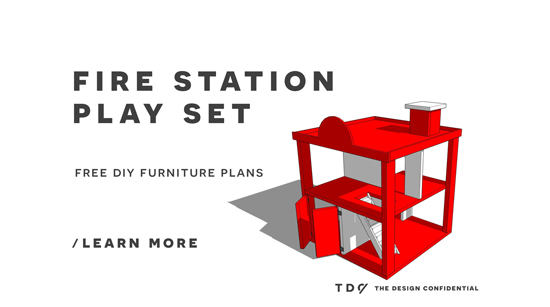 You Can Build This! Easy DIY Furniture Plans From The Design Confidential  With Complete Instructions