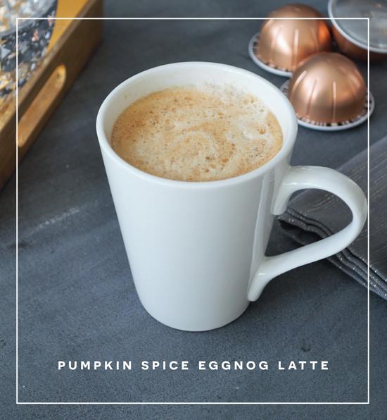 The Design Confidential Home for Holidays // Easy Pumpkin Spice Eggnog Latte Recipe