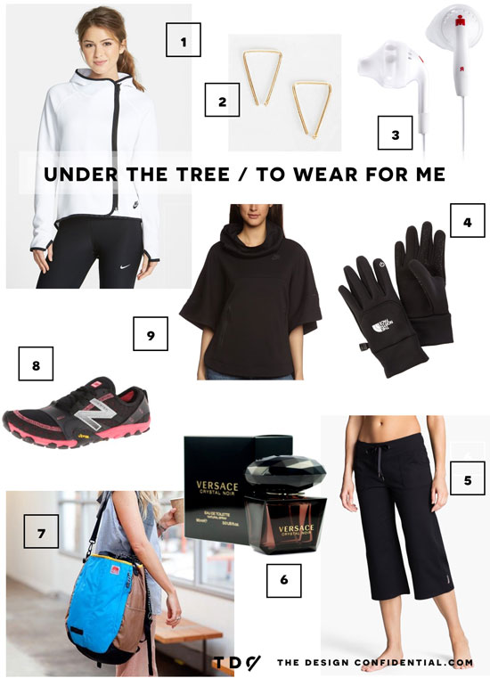 The Design Confidential Holiday Traditions Gifted // Clothing and Accessories Under the Tree to Wear for Me