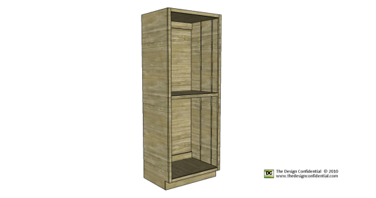 Free Woodworking Plans To Build The Easiest Pantry Cabinet