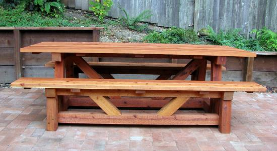Spectacular Reader Showcase Provence Beam Dining Table and Benches