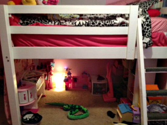 Popular Builders Showcase Fun Filled Low Loft Bed