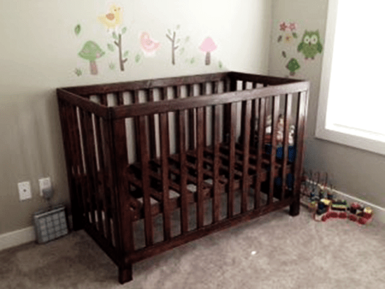 The Design Confidential Reader Showcase: Michaels Low Rise Crib