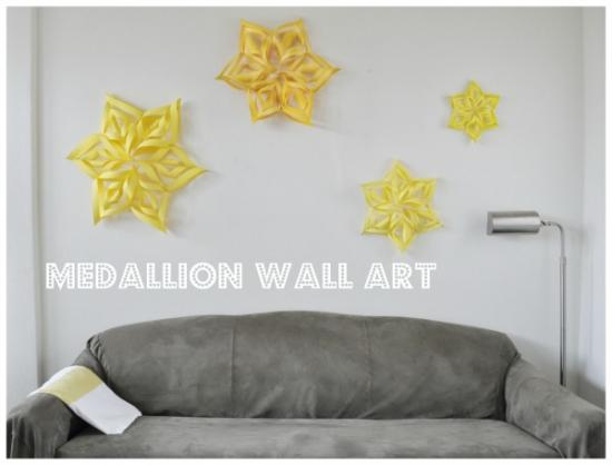 Perfect I absolutely fell in love with the ceiling medallion wall art display I added to the Master Bedroom Mood Board I created as part of the Apartment Guide New