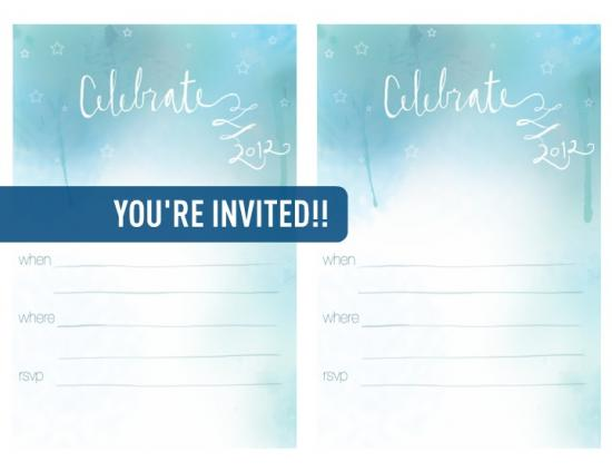 free printables new years eve invitations the design confidential