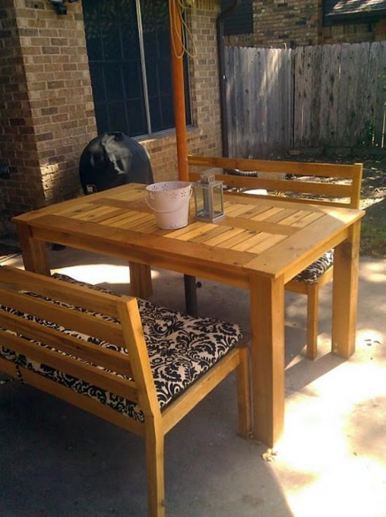 Reader Showcase for the Chesapeake Dining Table and Banquettes