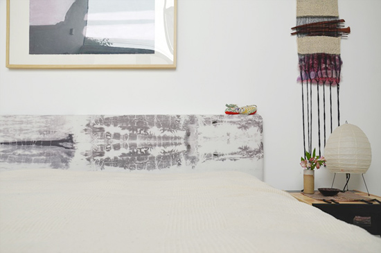 Beautiful Headboard for DIY to Try // Shibori is To Dye For