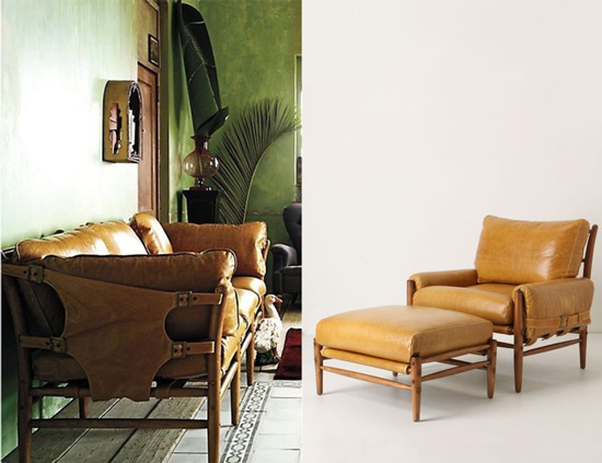 Anthropologie Sofa Inspiration for The Design Confidential Vintage Vulture // My New Old Sofa + DIY Reupholstery Or Leather Restoration