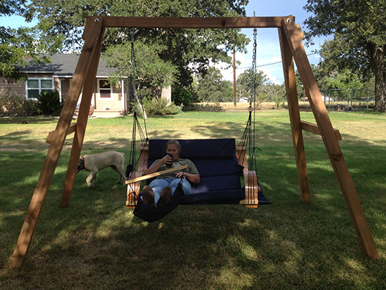 Reader Showcase // A Swingset for Two