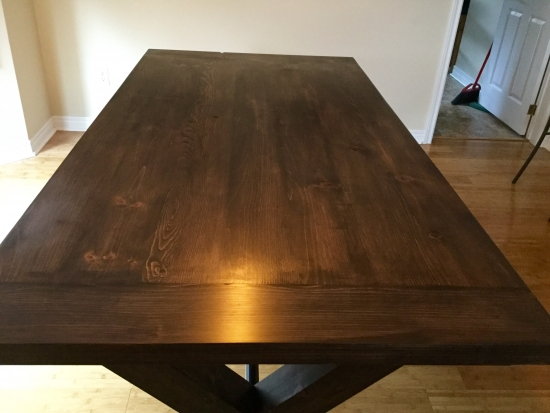 Builders Showcase // Toscana Dining Room Table