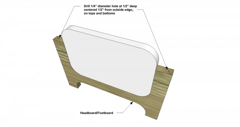 how to build a doll bed
