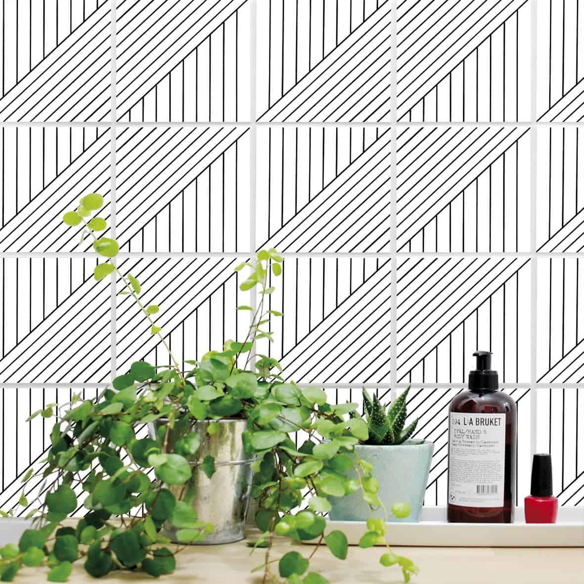 boubouki self adhesive tile stickers