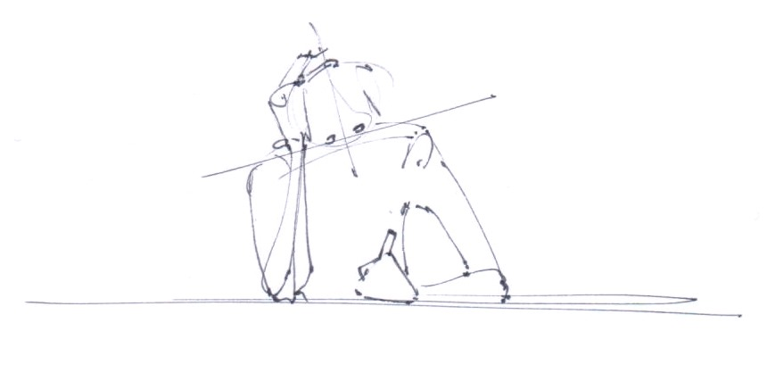 Are you drawing with a correct body posture ?
