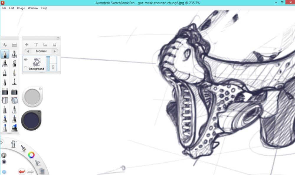 Set up a high resolution file with Sketchbook Pro |TIP5