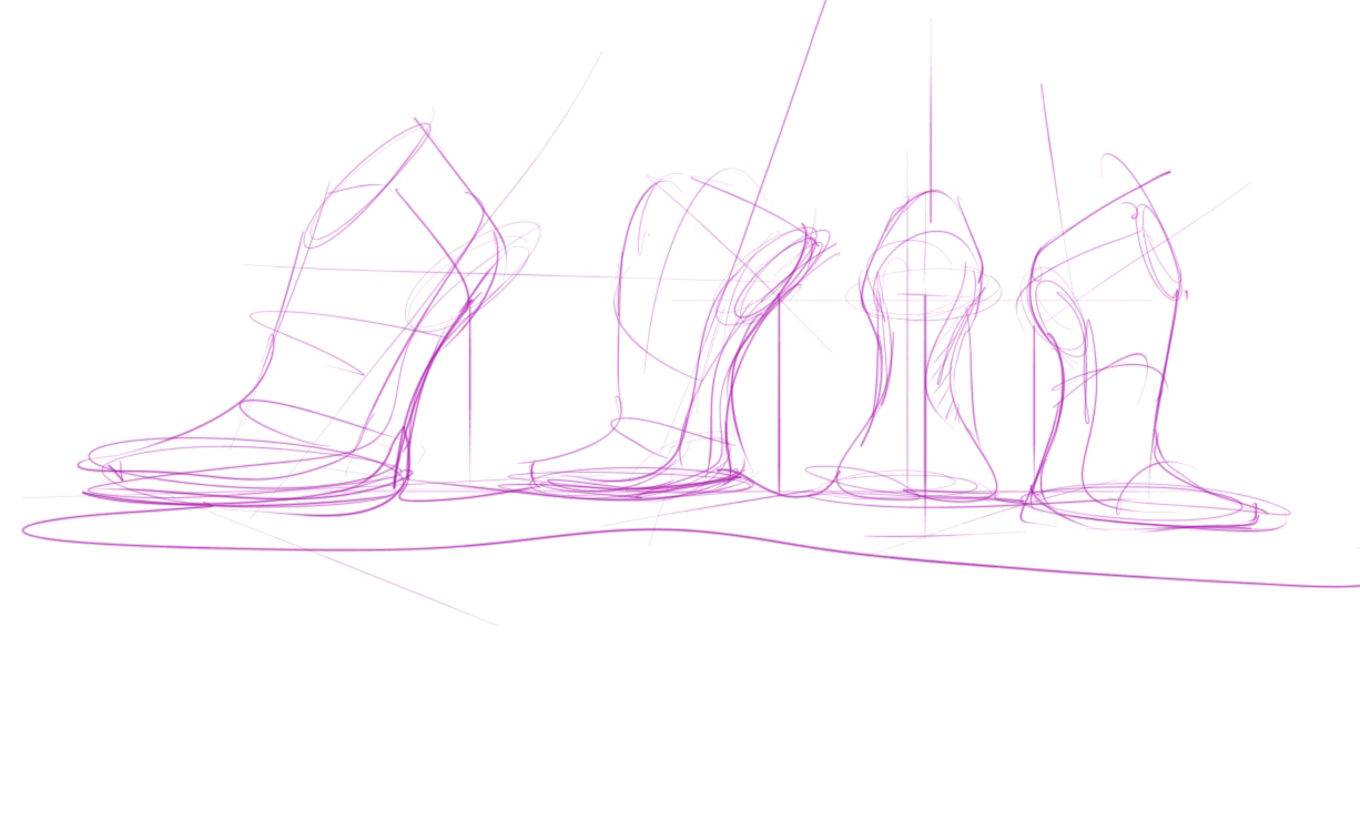 DRAW A SHOE ? DRAW A LAST | A LADY SHOE LAST AIM TO BE FEMININE, SEXY | TIP 11 - 12
