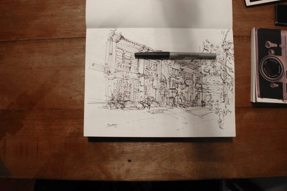 Keep sketching to keep memories and improvements! |TIP53