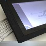 First day with a Wacom Cintiq 22 HD Touch