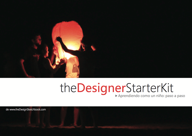 [the Designer Starter Kit] design sketching Book in Spanish!