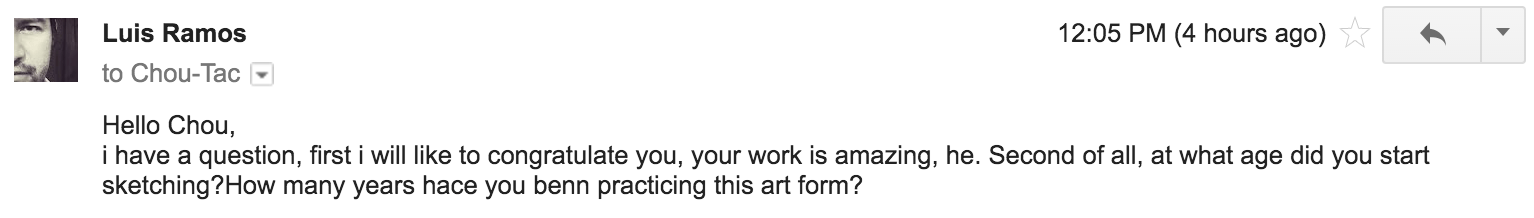 Luis Ramos - Sketch like the Pros testimonial - question - How long drawing.png