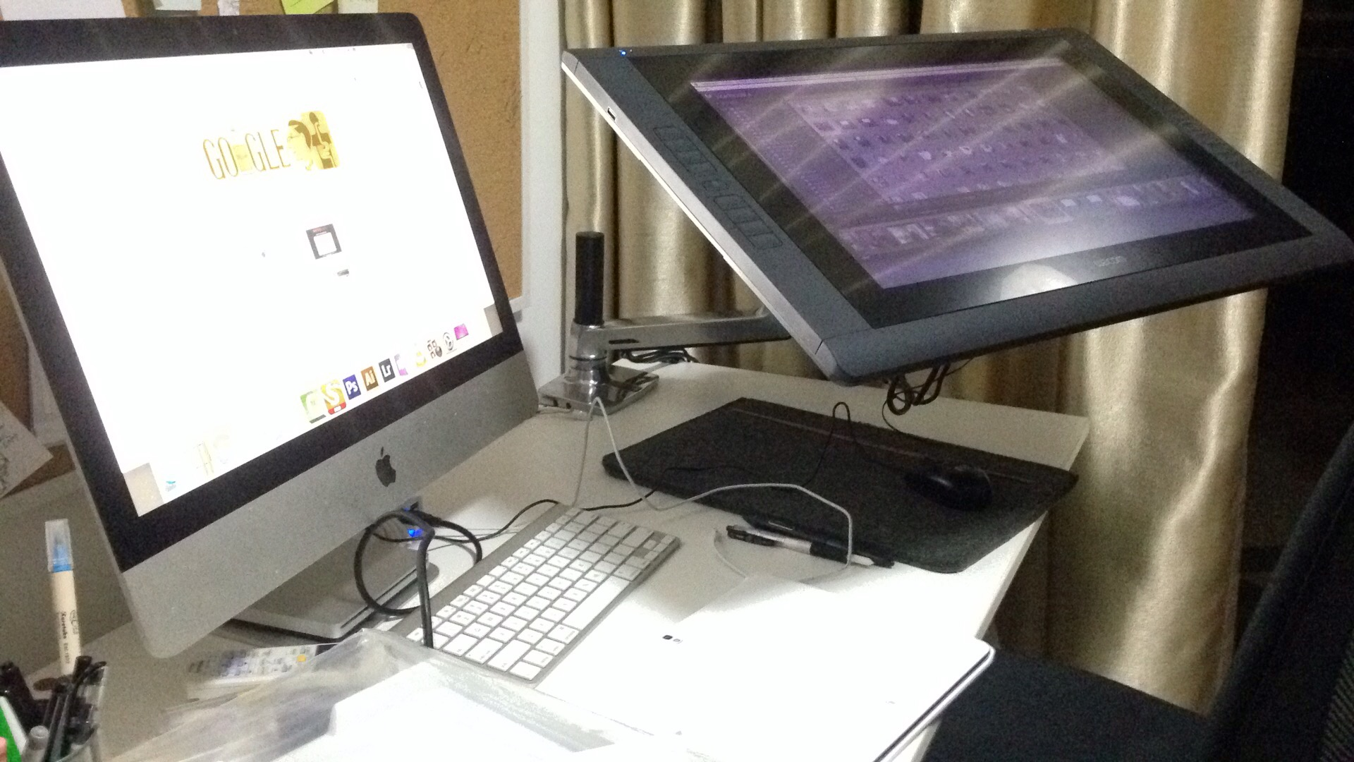 My New Tech Accessory The Ergotron For Wacom Cintiq 22