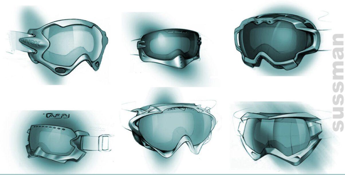 Goggles drawings - Noah Sussman