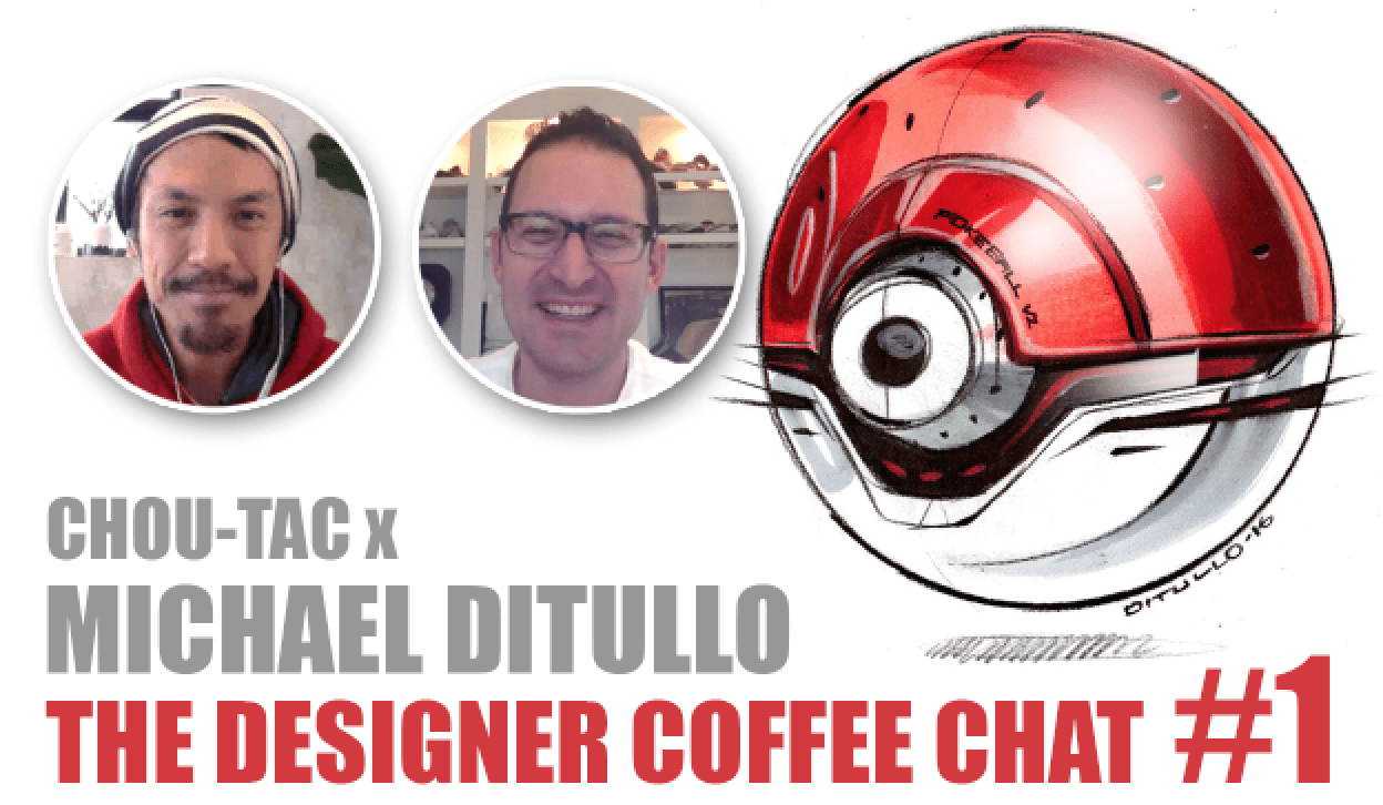 """The Designer Coffee Chat#1 """"I want to draw stuff from the future."""" - Michael DiTullo"""