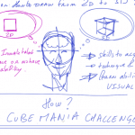 How to draw 3D cubes | CUBE MANIA CHALLENGE 1/3