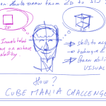 Start drawing in 3D with The CUBE MANIA Challenge ! VIDEO 1/3
