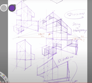 How to draw a 3d cube in perspective with the cube mania challenge part 3 Distortion impressive